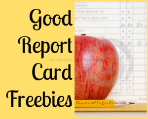 Good report card freebies