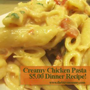What is an easy creamed chicken recipe?