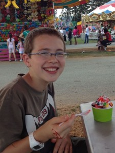 Frugal family fair outings
