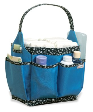 essential newborn items - diaper caddy
