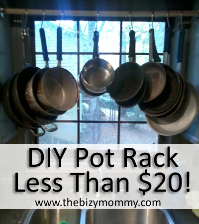 Beau DIY Pot Rack