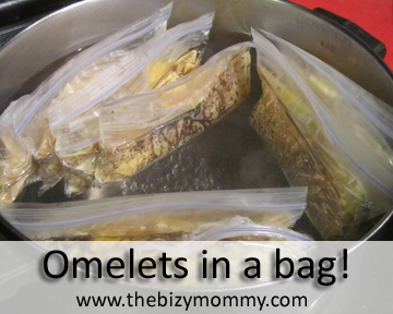 Omelets in a bag