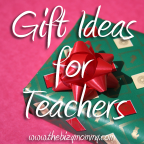 Top 5 gift ideas for teachers