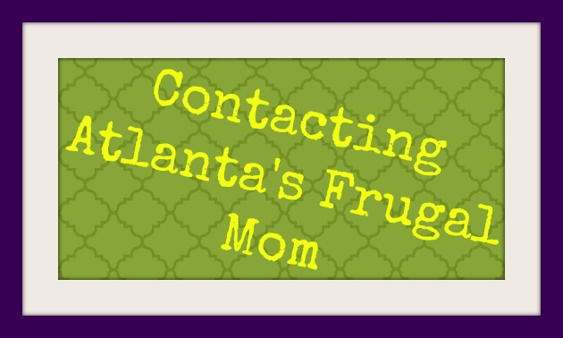 Contact Atlanta's Frugal Mom