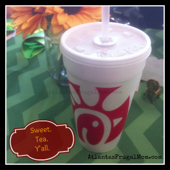 Signs You're From Atlanta - Chick-Fil-A Sweet Tea