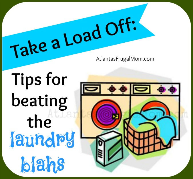 Tips for beating the laundry blahs