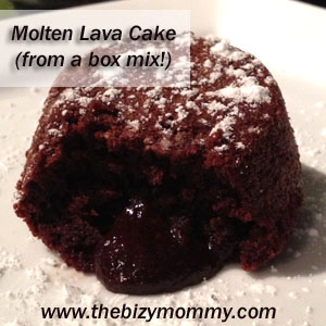 Molten Lava Cake - From a box!