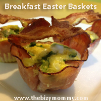 Breakfast Easter Baskets