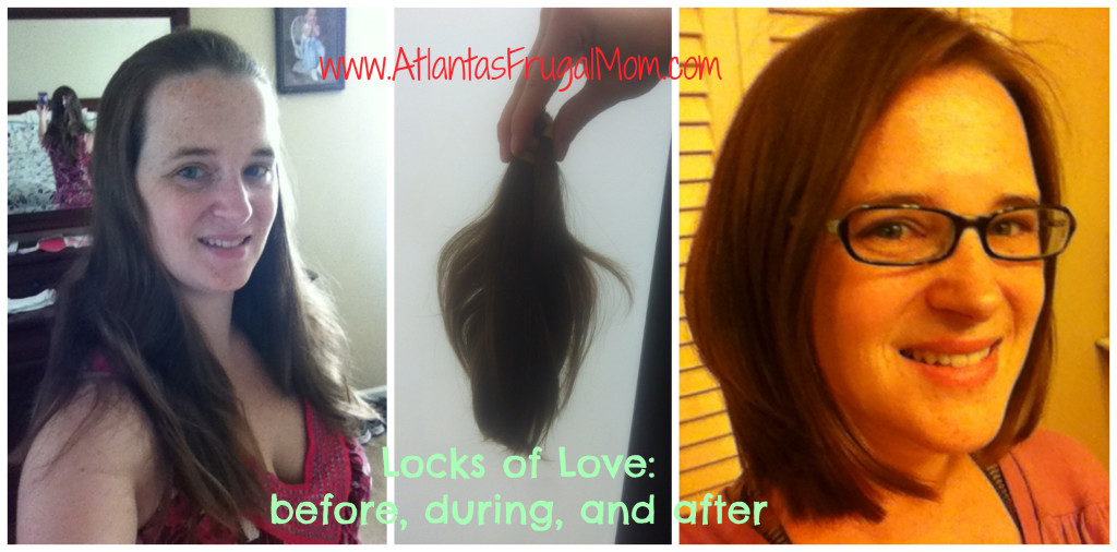 hair donation - Locks of Love