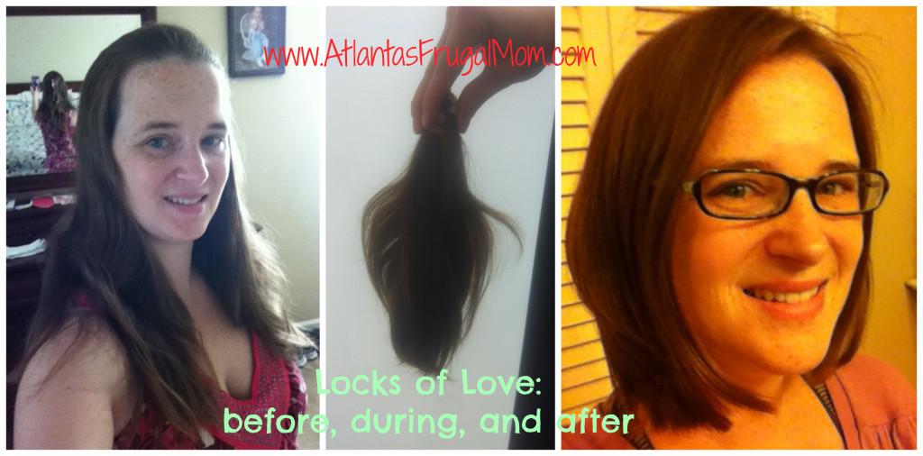 hair donation - Locks of Love