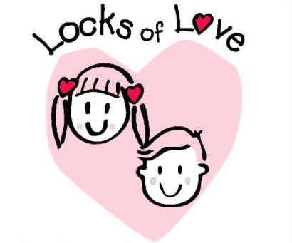 Locks of Love logo - hair donation