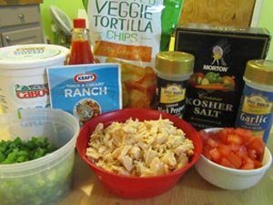 Buffalo Chicken Dip - Healthy and easy!