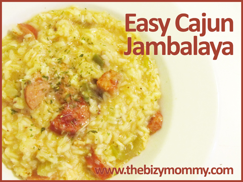easy cajun jambalaya recipe