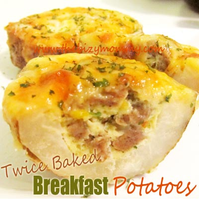 Breakfast Baked Potato Recipe — Dishmaps