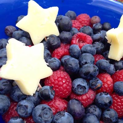 Red White and Blue Party Foods | Fruit salad