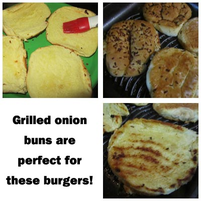 Grilled Onion Buns