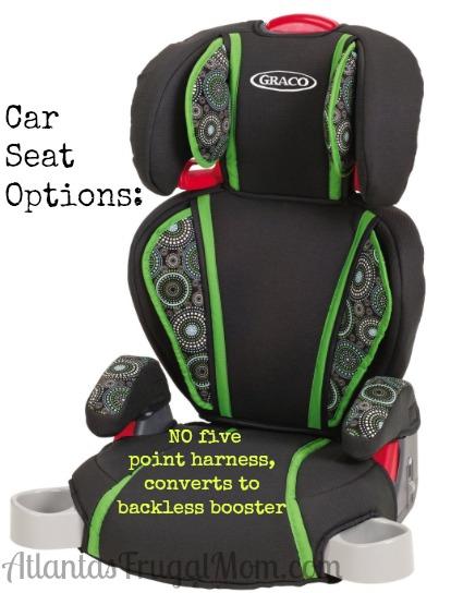 Car Seat Options 1