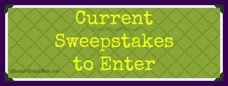 Current sweepstakes to enter