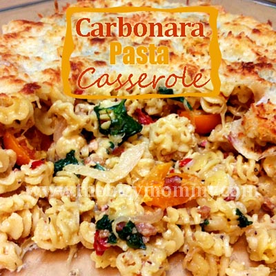 Carbonara Pasta Casserole