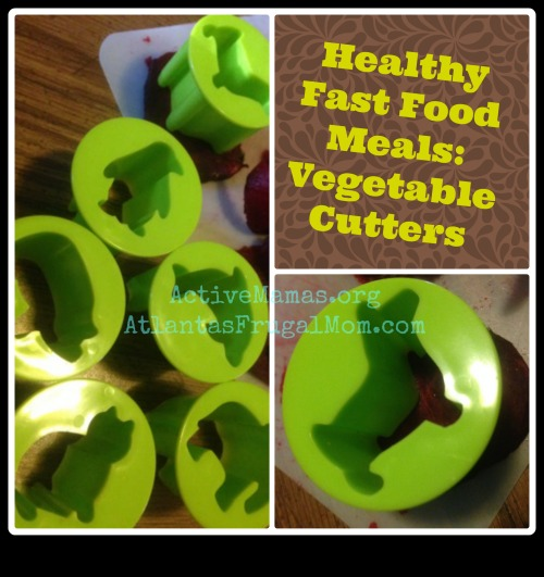 Healthy Fast Food Meals Vegetable Cutters