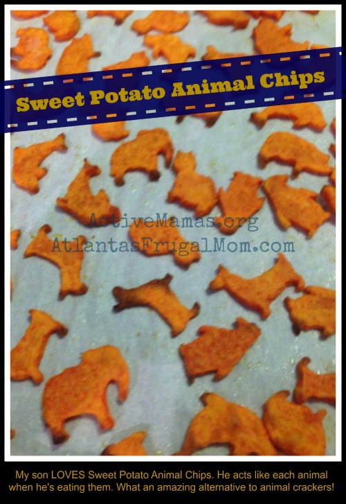 Healthy Fast Foods - Sweet Potato Animal Chips