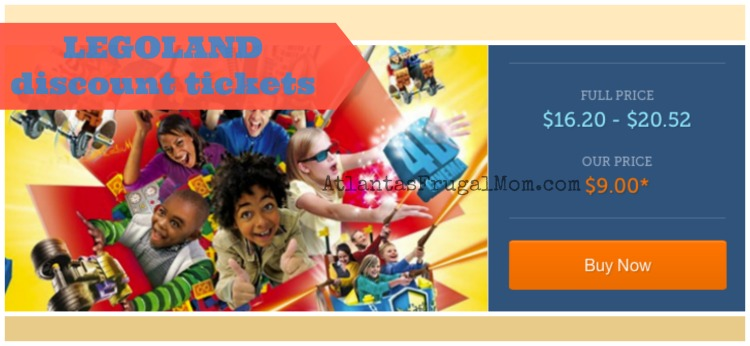 LEGOLAND discount tickets
