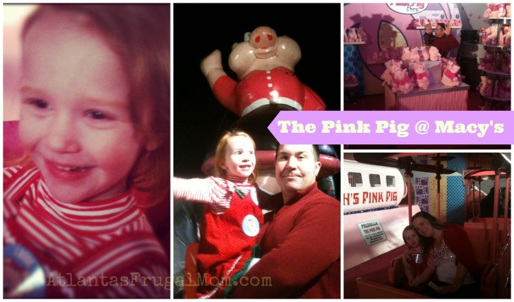 Macy's Pink Pig - Atlanta Family Winter Activities