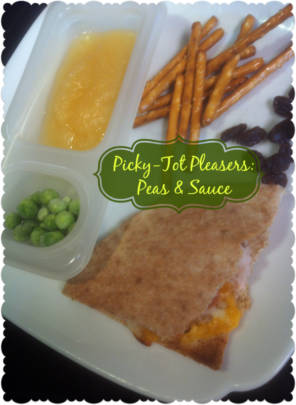 Peas and the Sauce with lunch