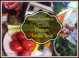 Vitamix Chicken Tortilla Soup Recipe