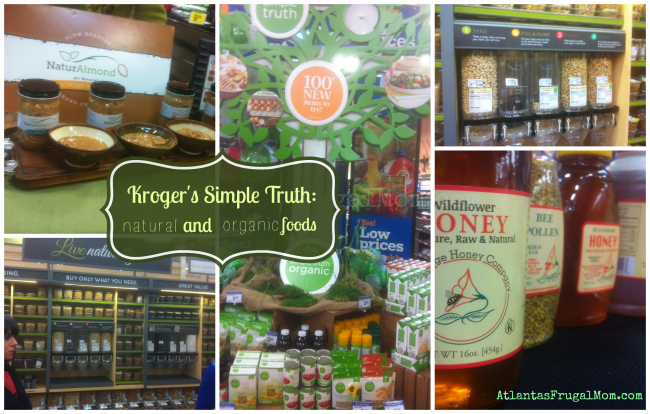 Kroger's Simple Truth - in store products