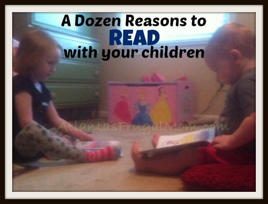 reasons to read with your child