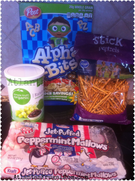 Alpha-Bits Snack Mix ingredients