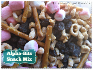 Alpha-Bits Snack Mix - banner