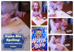 Alpha-Bits Spelling collage