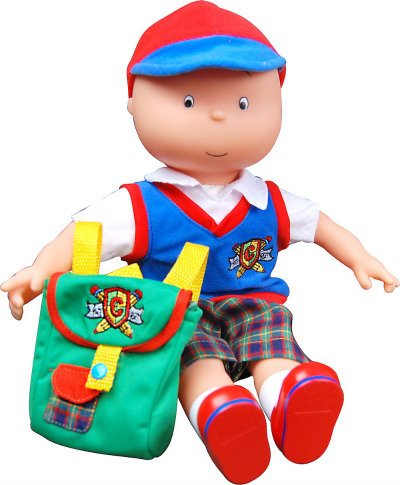 Caillou Talking Doll with accessories