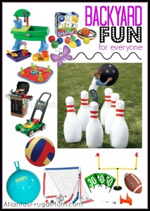 Backyard Toys for Kids of All Ages