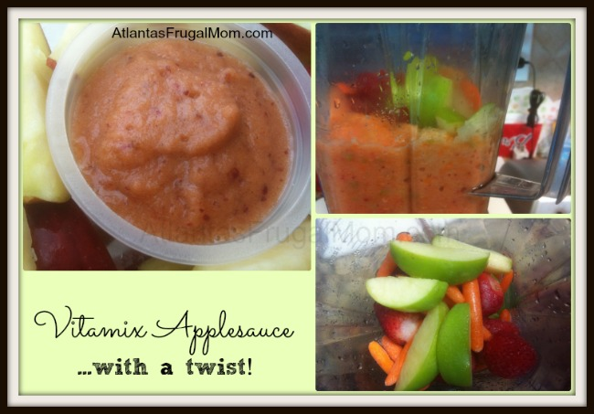 Vitamix applesauce with a twist!
