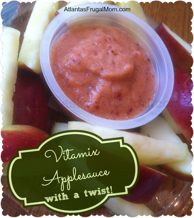 Vitamix Applesauce