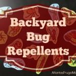 Backyard Bug Repellents