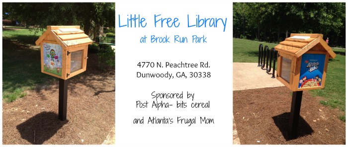 Little Free Library at Brook Run