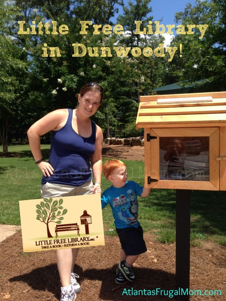 Little Free Library in Dunwoody