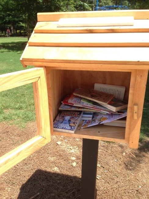 Little Free Library contents