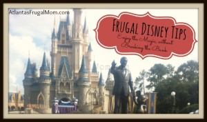 Frugal Disney Tips