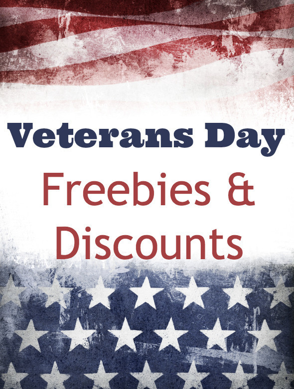 Veterans Day Freebies 2016