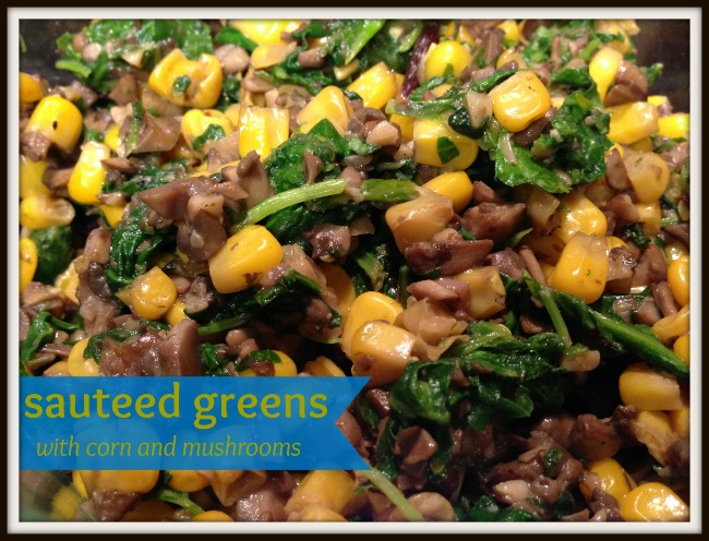 Sauteed Greens recipe