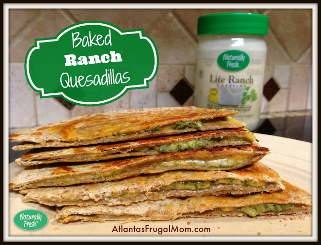 Baked Ranch Quesadillas