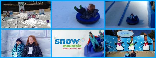 Surviving Snow Mountain collage
