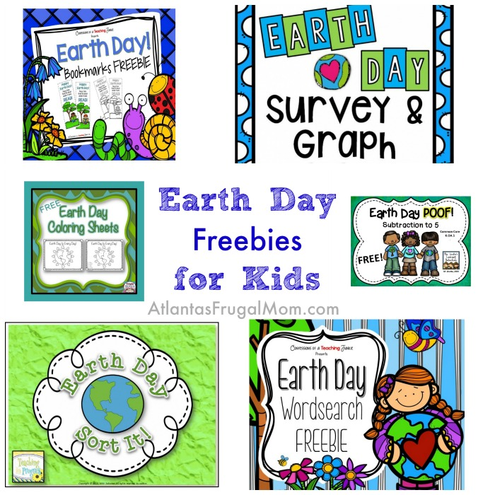 Earth Day freebies