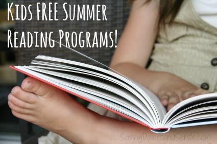 Kids Free Summer Reading Programs 2015