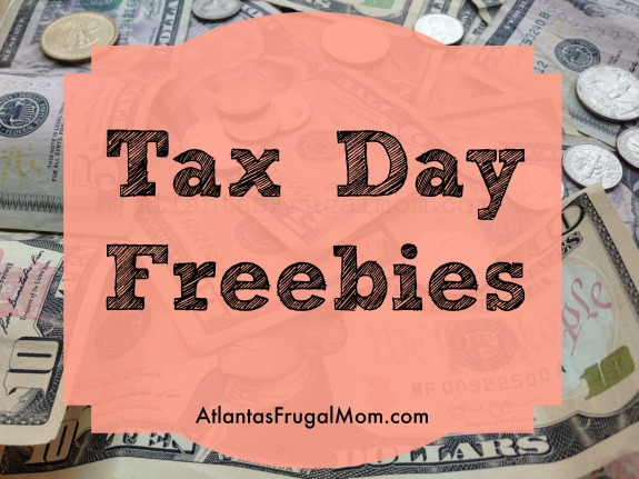 Tax Day Freebies 2017